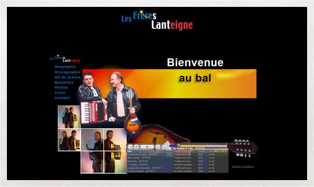 Site internet des frères Lanteigne