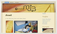 Miniature du site internet de marie-jOsée 3rideau