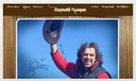 Miniature du site internet de Raynald Basque