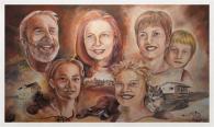 Illustration de la famille Boudreau