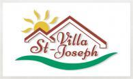 Le logo de la Villa St-Joseph conçu par lMarie-Josée Brideau du studio imajOzé