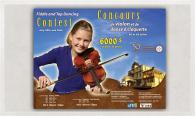 Affiche du Concours de violon