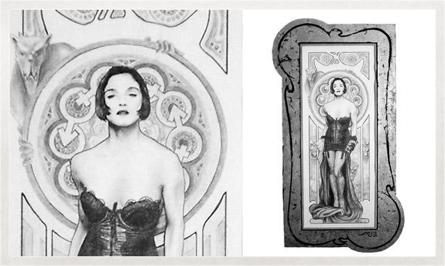 Illustration de Madonna