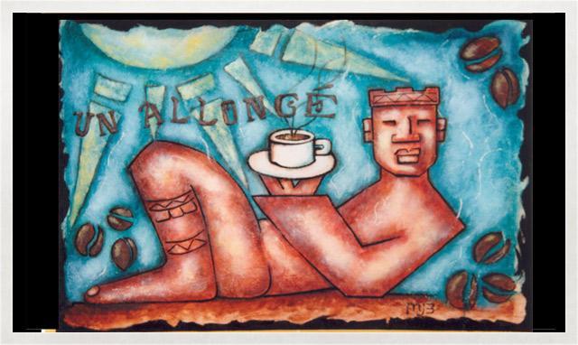 Illustration d'un allongé