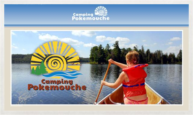 Camping Pokemouche web désigne par le studio imajoze
