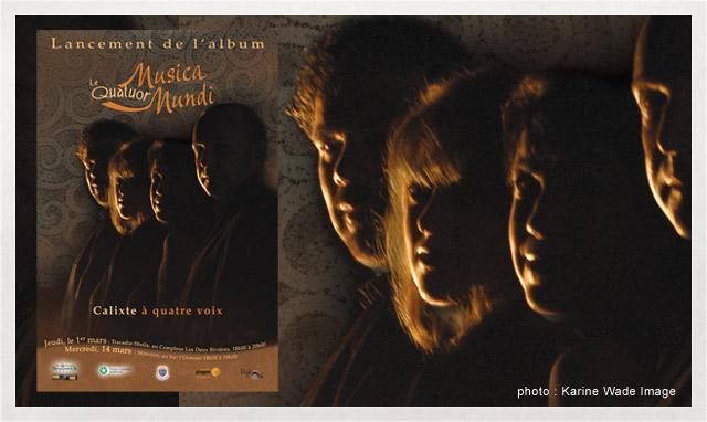 Affiche du Quatuor Musica Mundi 2007