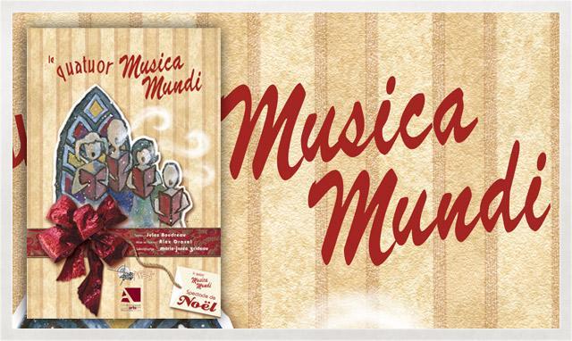 Affiche du Quatuor Musica Mundi 2008